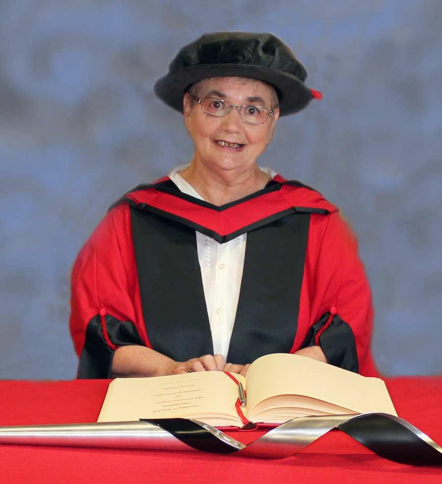 Lynne Evans honoraries 2016