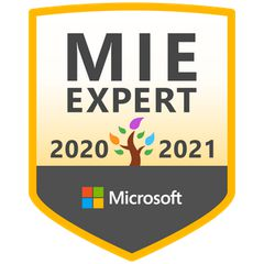 Microsoft Innovative Expert 20/21