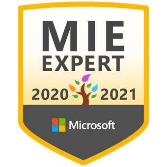 Microsoft Innovative Educator (MIE) Expert Program