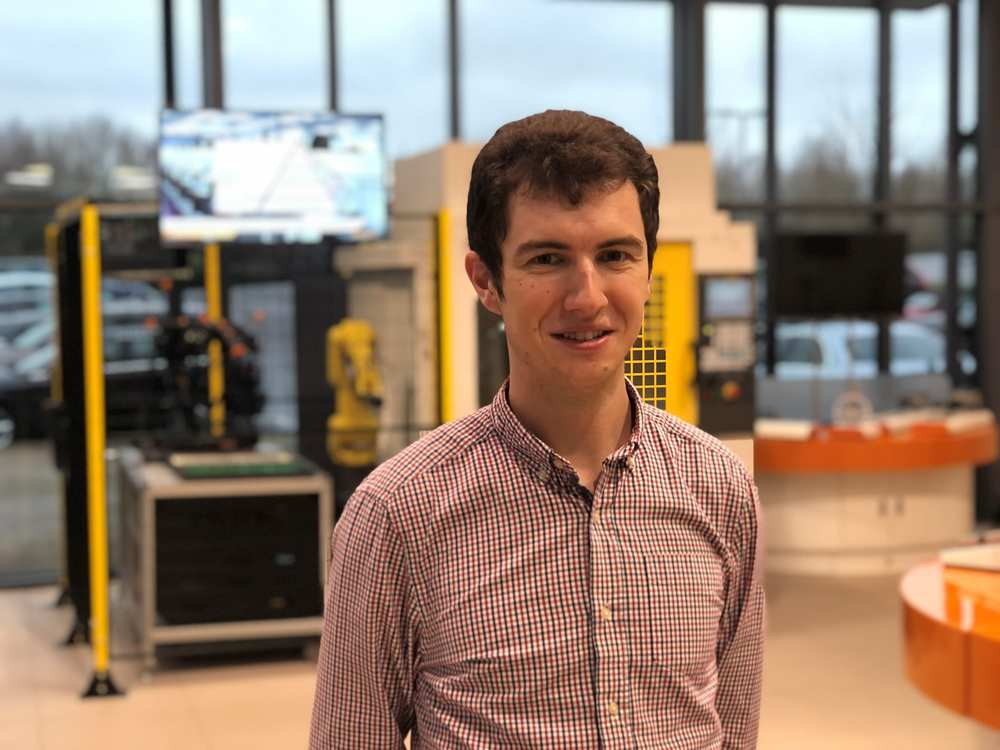 USW graduate Matthew Hunter, Design Development Engineer and former apprentice at global engineering company, Renishaw, was awarded the Frederic Barnes Waldron 'Best Student' award March 2021