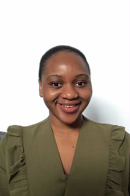 International Women in Engineering Day, Mayando Telebwe from Zambia, who is studying Construction Project Management,