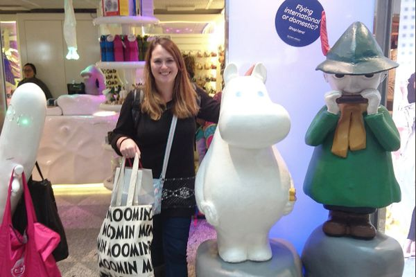 A bit of retail therapy at the famous Moomin shop!