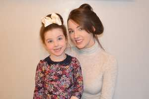 Myscha-Dene Bates with her daughter Phoenix. Myscha won The Foundation of Infant Loss: Student Midwife of the Year 2017'.