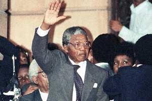 Nelson Mandela release from prison
