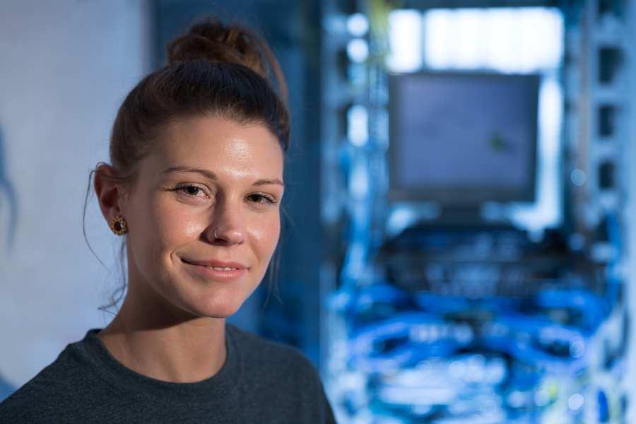 Nia Harris, Computer Science student