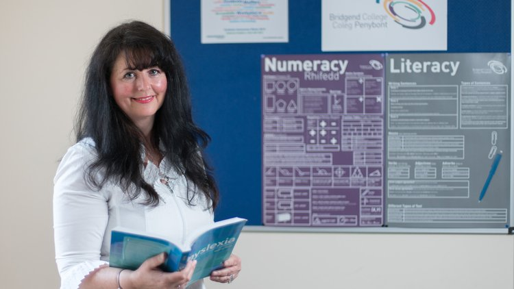 Nicola Wall is a Dyslexia tutor in Bridgend College, Postgraduate Diploma in Specific Learning Difficulties