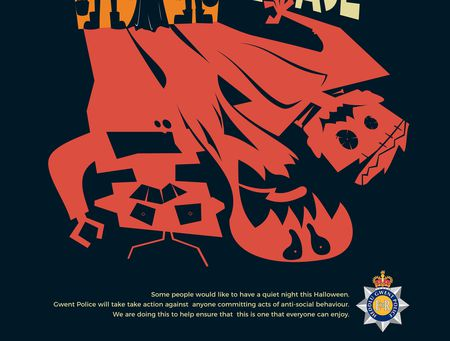 Graphic Comms Gwent Police competition1