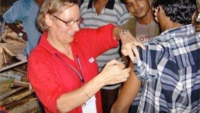 Nurses Hannele Immunisation