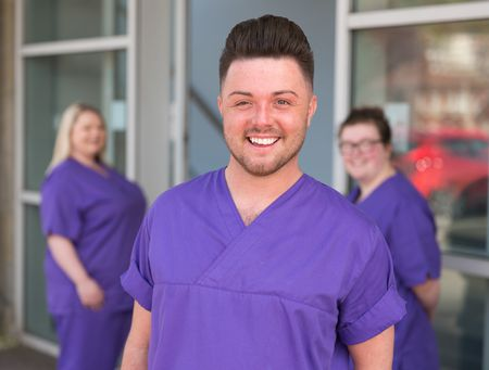 Daryl James, student nurse, adult nursing