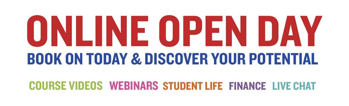 Online Open Days Banner