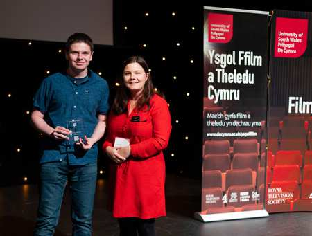 Owain Carbis won the Best Film Review category, and collected his prize from Nia Renshaw of Cineworld. FTSW Awards. Neil Gibson, July 2019