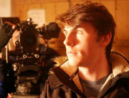 Film Student on set