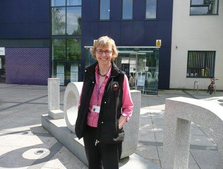 Debbie Roberts, MSc Public Health graduate
