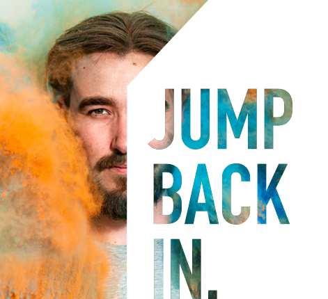 Jump Back In - Postgraduate Evening Banner