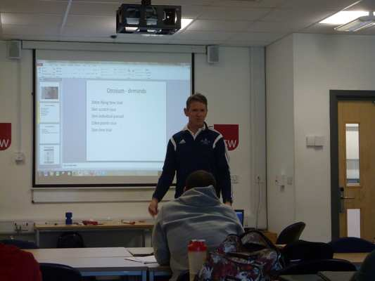 Paul Pook outlines some of the challenges of working with Olympic cyclists