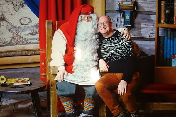 We even managed to meet Santa at his home in Rovaniemi, Lapland