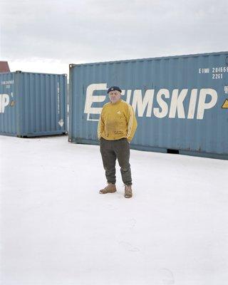 Polish Docker - Krzysztof Keflavik Harbour