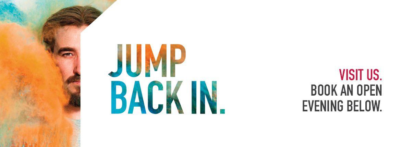 USW Postgraduate Study - Jump Back In Banner