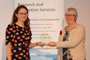 Prof Ruth McElroy and Prof Helen Langton - Impact and Innovation Awards
