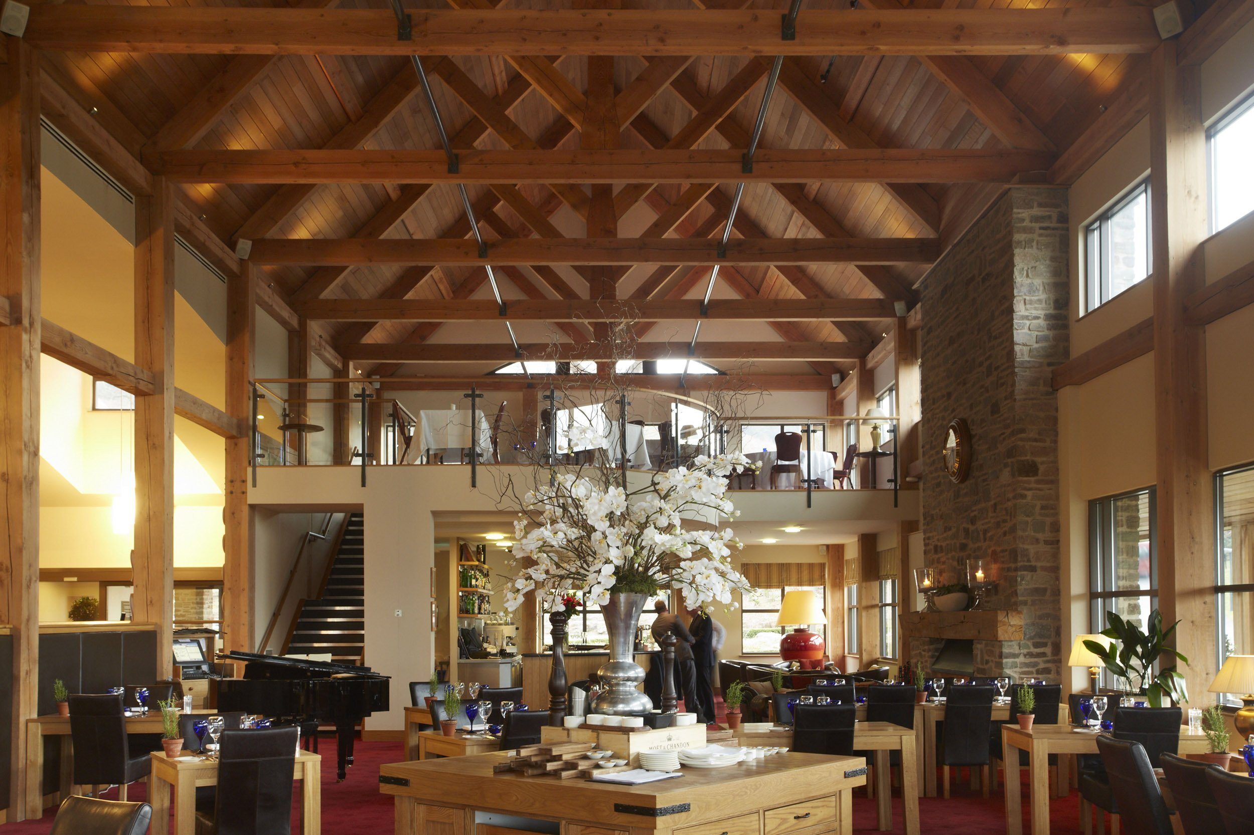 Rafters Restaurant at The Celtic Manor Resort