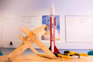 USW's Team Enillwyr won this year's National Rocketry Championship