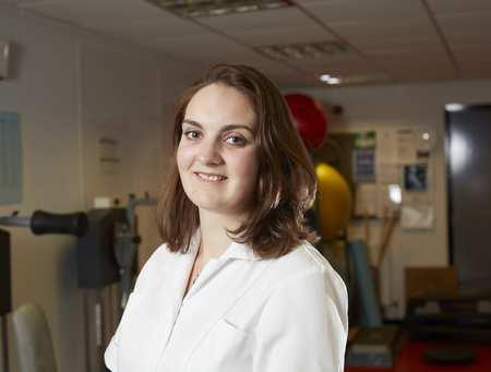 Rosie-Chiropractic student