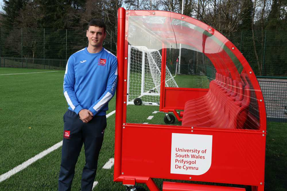 Masters student Ryan Moon is the youngest ever UEFA A licence holder in Wales