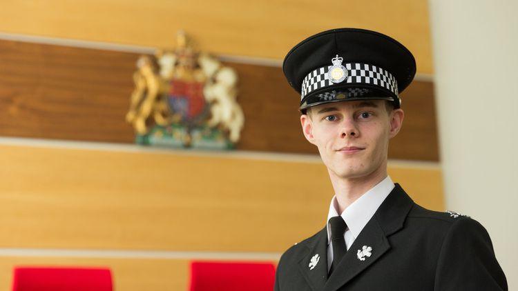 Sam Kemley_Police Sciences student