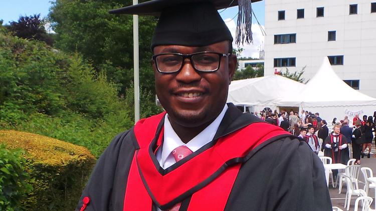 Adedeji Owonibi, MSc Forensic Audit and Accounting graduate