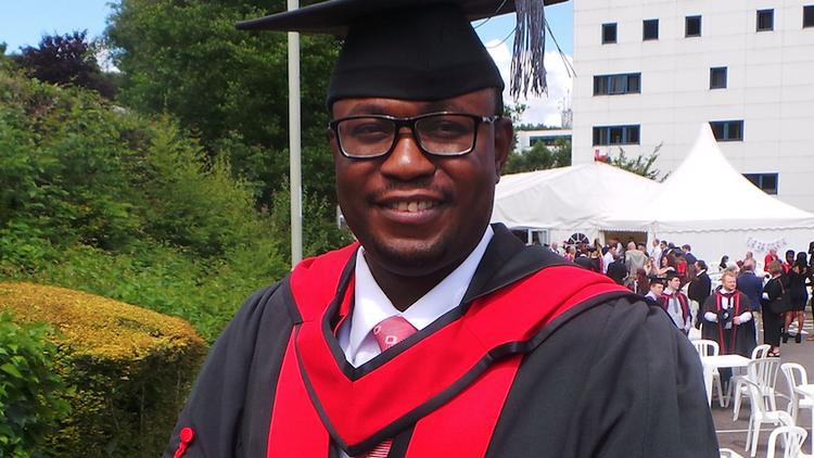 Adedeji Owonibi, MSc Forensic Audit and Accounting graduate