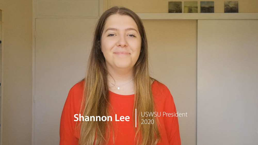 Class of 2020: Update your details campaign - Shannon Lee