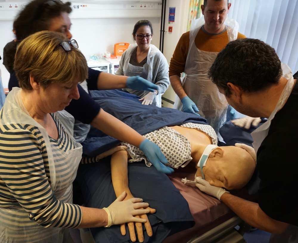 Simulation Centre training NHS