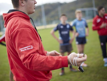 Story image: USW's BSc (Hons) Sports Coaching and Development degree