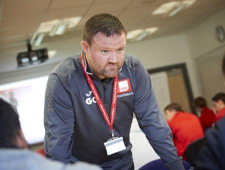 Gavin Chesterfield, football coaching