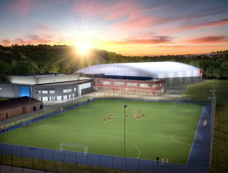 USW Sport Park flythrough