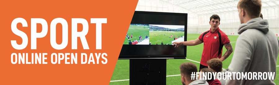 Sport Online Open Day