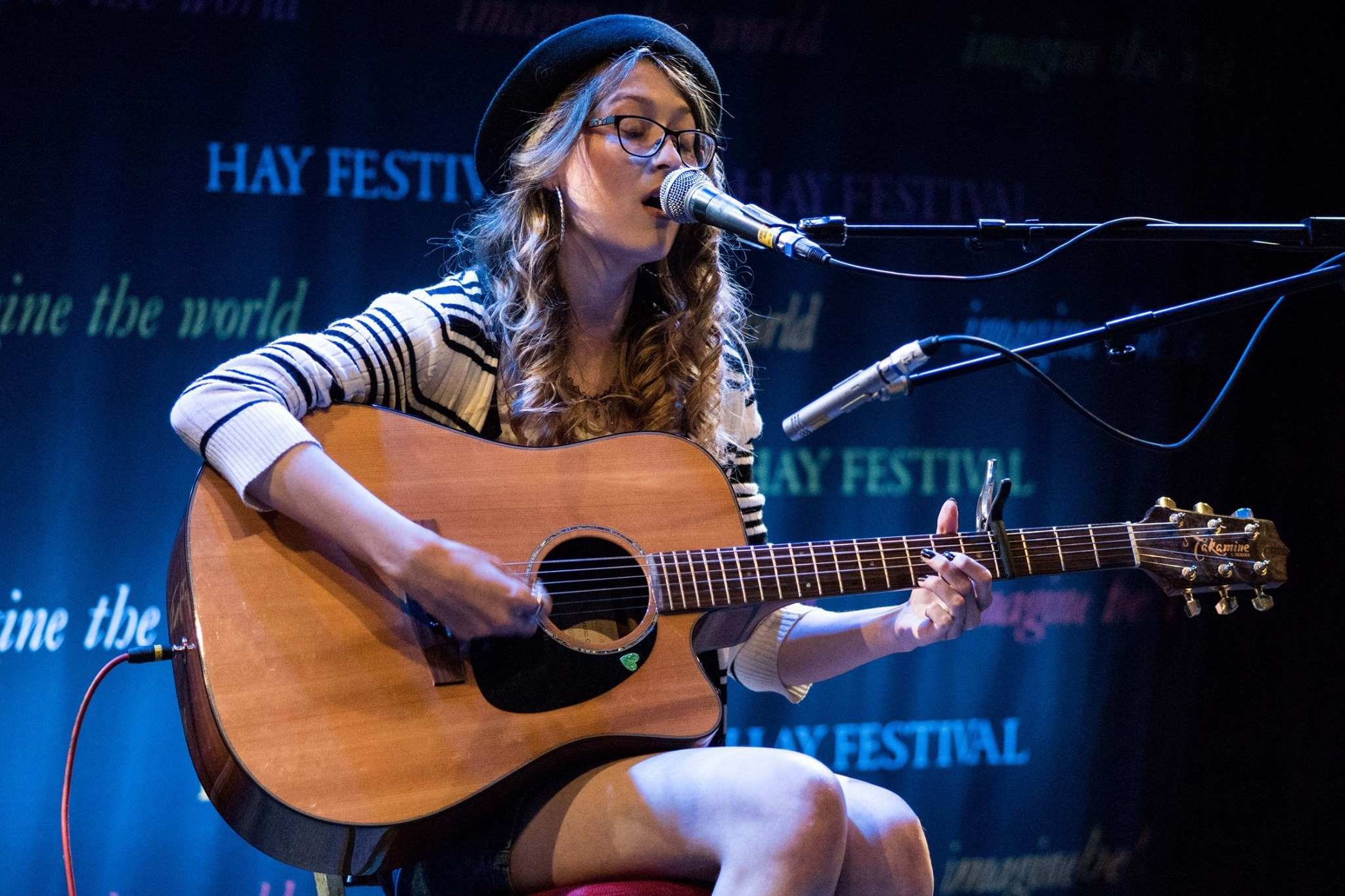 Photography from The Hay Festival by Stephen Meredith