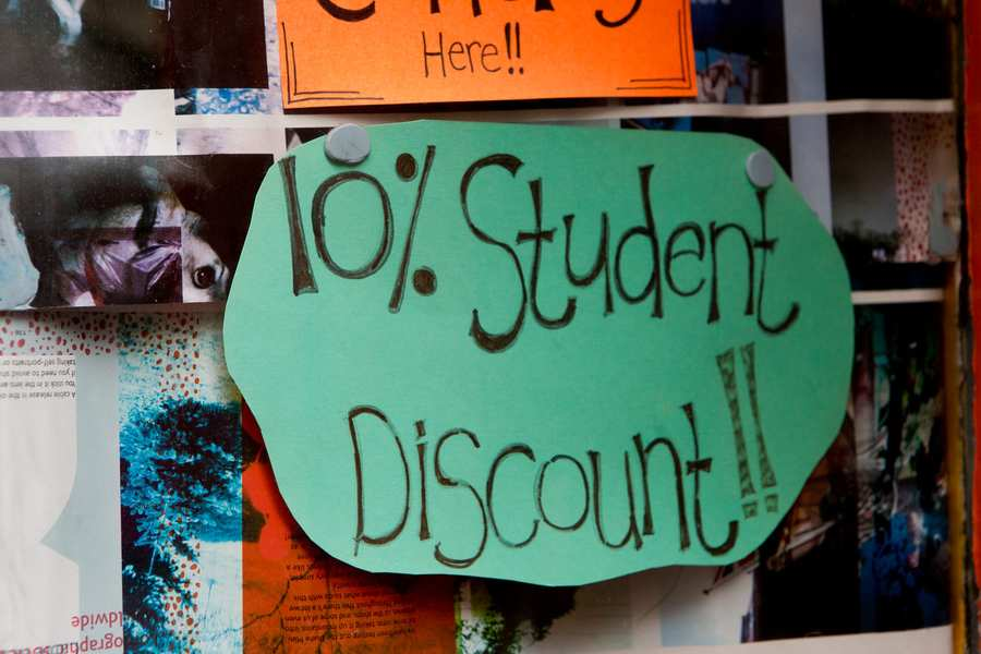 Student_discount student money