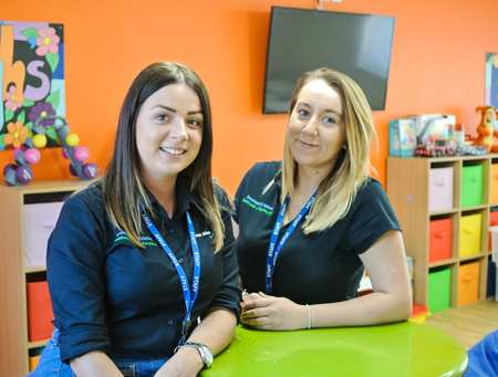 Suzy and Abbie - Youth and Community Work