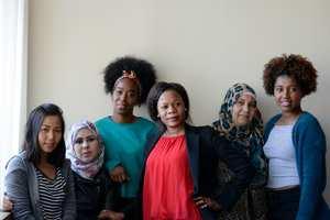 English Language Lessons for Refugees, Dr Mike Chick - image credit: Veronika Merkova, Photojournalism graduate