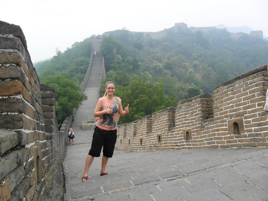 Gunita travelled to China during her 2nd year of studies to work as a teaching assistant.