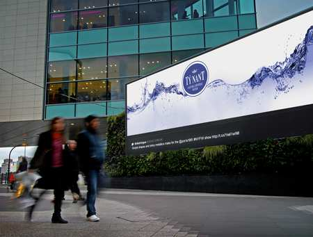 Ty Nant Water Advertising Design