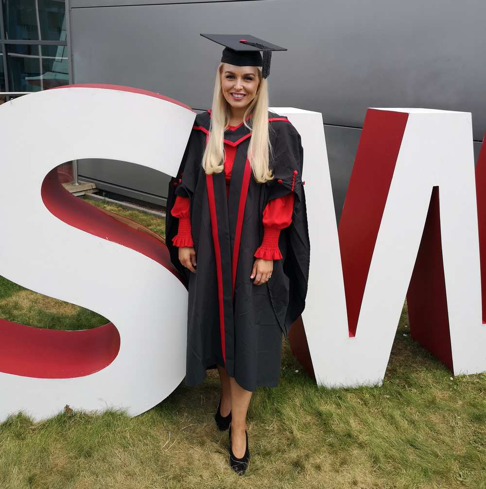 Tammie Mylan beat cancer, and has now graduated from USW.