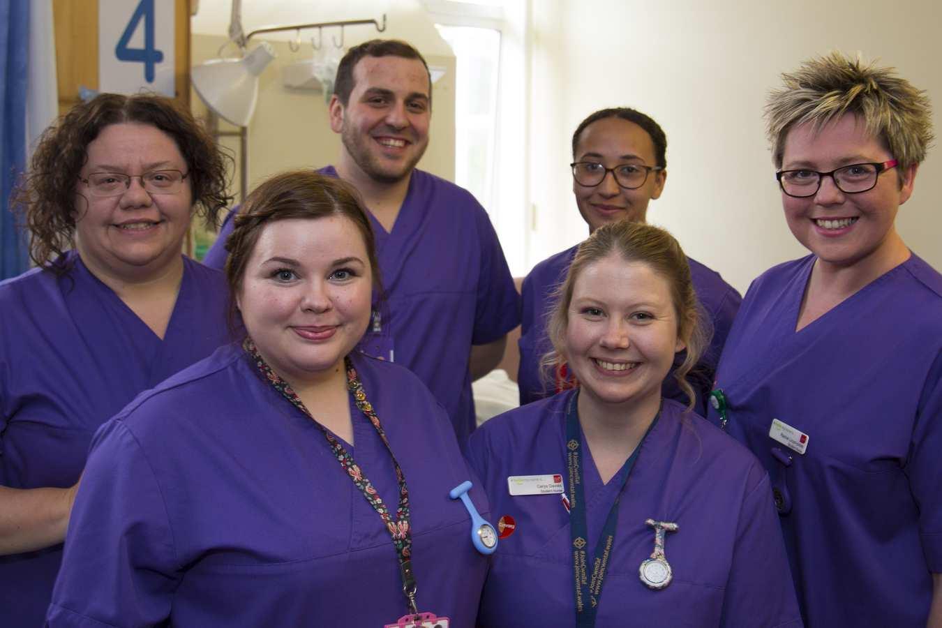 Team hydr8 - third year adult nursing students