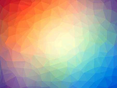 Geometric colourful shapes