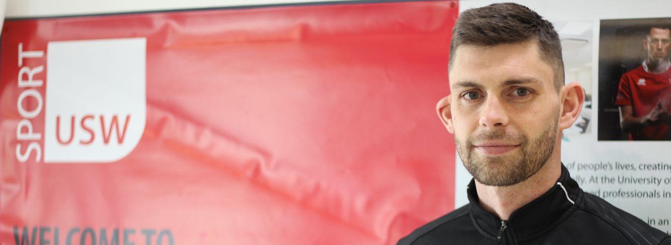 Tony Wallis, Sports Coaching and Development Degree