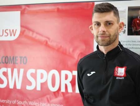 Tony Wallis, Sports Coaching and Development Degree