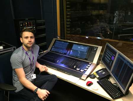 Will Darke, Live Event Technology graduate now working for WNO