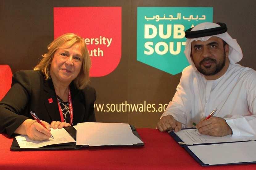 USW Dubai: Partner Signing