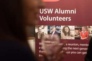 USW Alumni volunteers